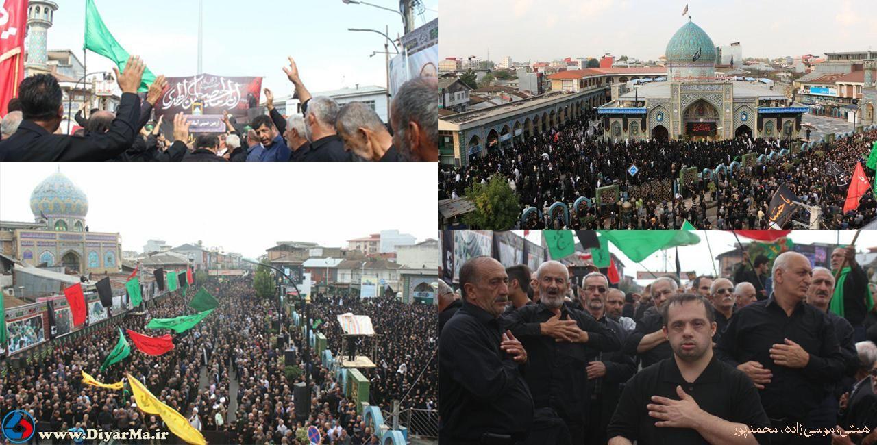 برای نهمین سال متوالی، تجمع بزرگ عزاداری جاماندگان اربعین حسینی در شهرستان آستانهاشرفیه برگزار شد.