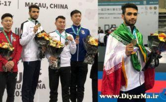 مدال طلای رقابتهای کاراته دانشجویان آسیا بر گردن کاراتهکای آستانهای