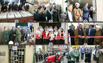 از گلافشانی مزار شهدا تا آغاز عملیات احداث مسکن محرومان در شهرستان آستانهاشرفیه