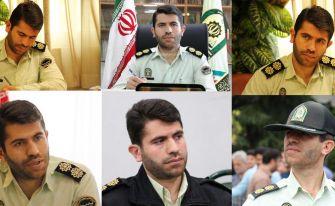 پایان مأموریت سرهنگ روشن قلب بهعنوان فرمانده انتظامی شهرستان آستانهاشرفیه