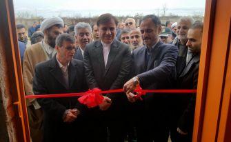 افتتاح 2 طرح صنعتی و زیستمحیطی در آستانهاشرفیه