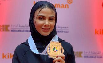 دختر کاراته کای آستانهای اولین بانوی المپیکی گیلان شد