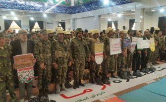 گزارش تصویری همایش بزرگ شکوه اقتدار بسیجیان در آستانهاشرفیه