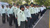 صبحگاه مشترک نیروهای نظامی به مناسبت هفته ناجا