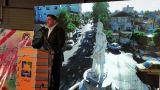 گود بای پارتی دو عضو شورا در صافترین خیابان شهر که خط�