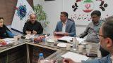برگزاری آئین تحلیف عضو علیالبدل شورای اسلامی شهر آست�